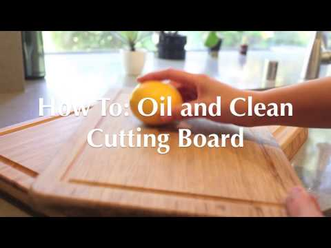 How To Oil and Treat Cutting Boards