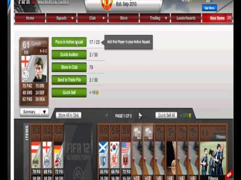 Fifa 12 Ultimate Team: Packs To Squads : Ep 1