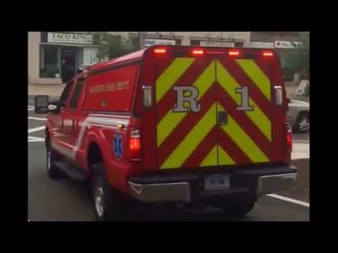Hamden Ct Fire Rescue 1 responding