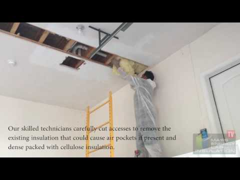 How Garage Ceiling Insulation Should Actually Be Installed - Dover, MA