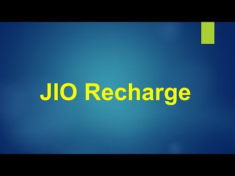 Jio Recharge using Paytm Wallet