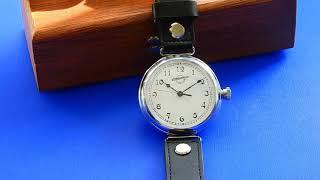 1930-40s Military Style Wristwatch - Zlatoust