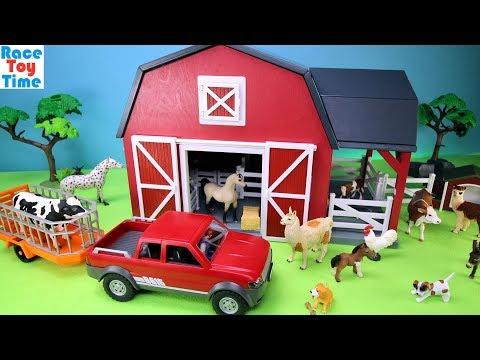 Xxx Mp4 Farm Barn Terra Playset With Fun Animals Toys For Kids 3gp Sex