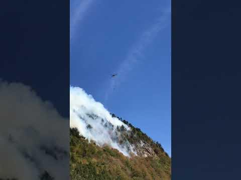 Lost River Wildfire (AM update 10/3/17) - N. Woodstock, NH