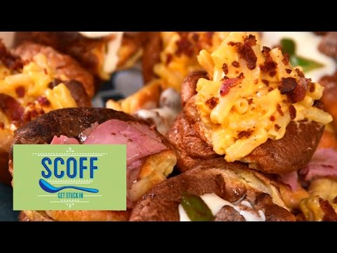 Mac And Cheese New Yorkshire Puddings I Sinful Snacks