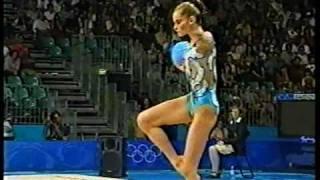 Yulia Barsoukova Ball Qualif Sydney 2000