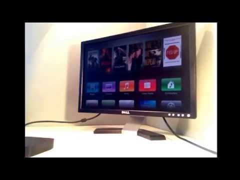 How to cenect Apple TV to  computer monitor (easy)