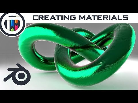 Creating Cool Materials in Blender [1]
