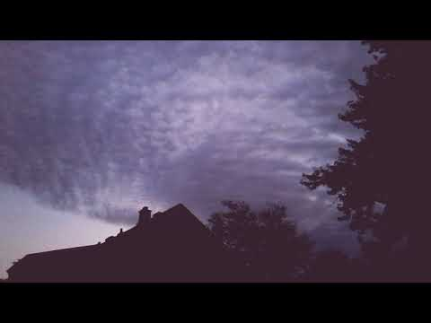 Odd clouds formation