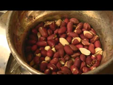 How to Make Fresh Peanut Butter from Raw Nuts -   Homemade & Yummy
