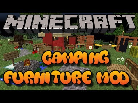 Minecraft: Camping Furniture Mod Showcase W/Download (Xbox 360/One/PS3/PS4/Wii U)