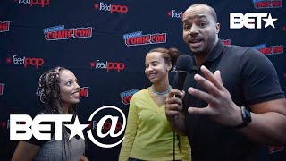 We Test Donald Faison & More In Blerd Trivia At New York Comic Con! | BET@