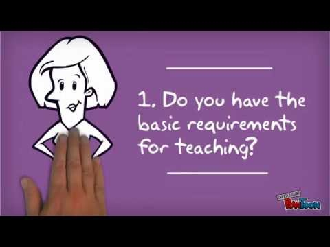 I want to be a teacher, where do I start? Get into teaching