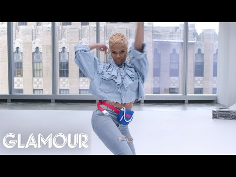 Teyana Taylor Dances to Terrible Stock Music | Glamour