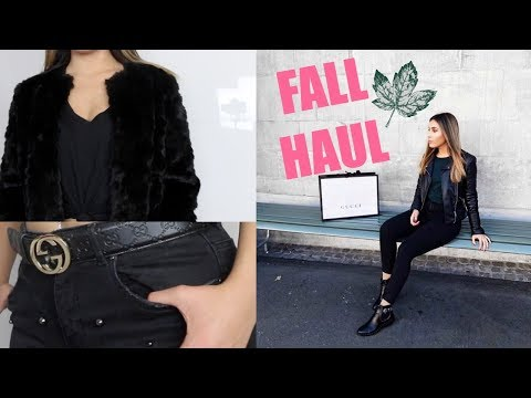 HUGE FALL TRY ON HAUL! (GUCCI, ZARA AND MORE)
