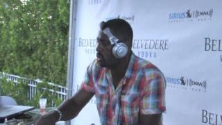 Winter Music Conference - Idris Elba - Sirius Radio Party