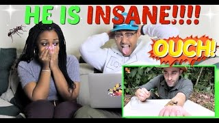 Download Brave Wilderness ″STUNG by a BULLET ANT!″ REACTION!!!! Video