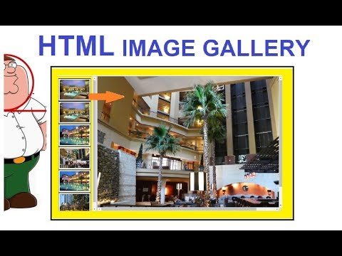 image gallery html | html photo gallery | photo album in html