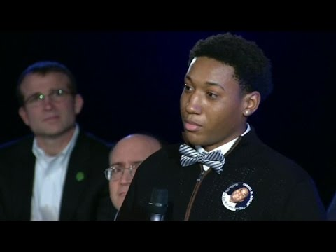 Obama's advice to teen who lost brother to gun violence
