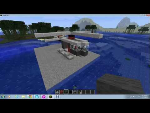 How To Make A Helicopter In Minecraft