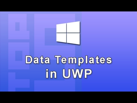 Xaml Data Template Binding in UWP (Windows 10 App Development)