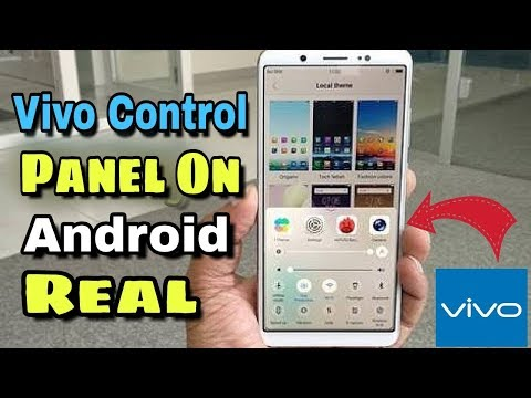 How To Get Vivo Control Panel On Android | 100% Real 2018
