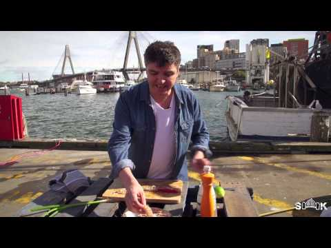 How to make Scampi Sashimi - Sydney Harbour Kitchen Ep 11