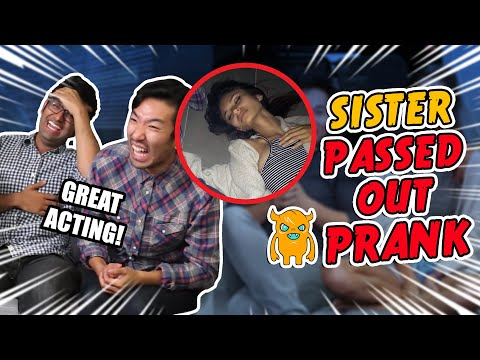 Sister Passed Out Prank - OWNAGE REWIRED