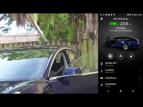 Tesla Model 3 - How To: Set Up Your Phone as a Key