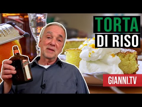 Torta di Riso: Sweet Orange-Scented Rice Cake, Italian Recipe - Gianni's North Beach