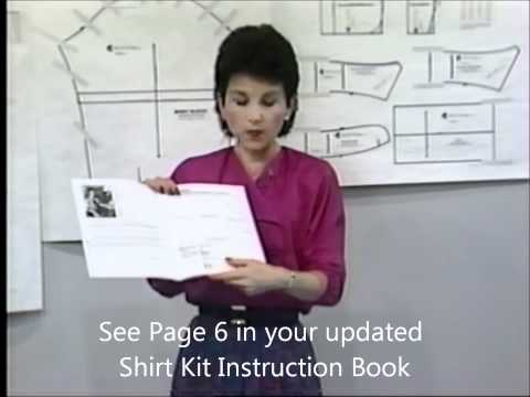 Tutorial: Shirt Pattern - Personalizing your Neck Measurement/Size