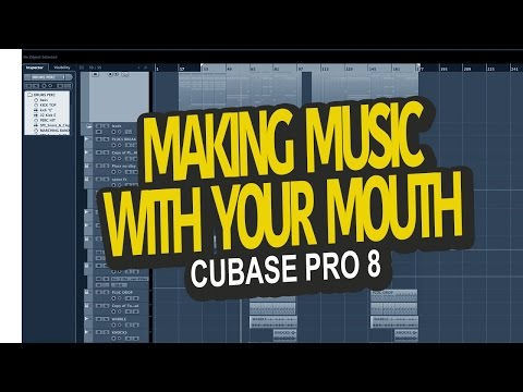 hum a melody and converted to midi. Cubase 8
