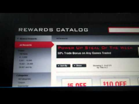 How to use: The Powerup Rewards From GameStop
