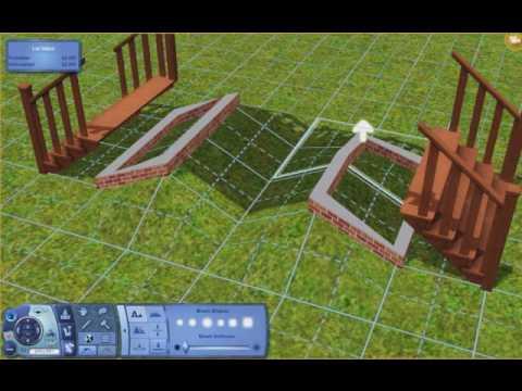 The Sims 3 Bridge/Beautiful Park Tutorial