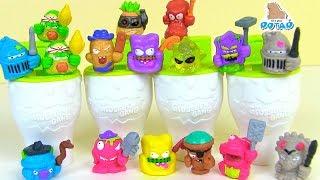 Download Сюрпризы Жители туалета #Grossery Gang! Time Wars Детский мультик! Испорченные продукты Video