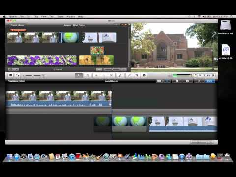 iMovie 11: Removing Video Frames While Preserving Audio