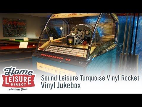 Sound Leisure Turquoise Vinyl Rocket