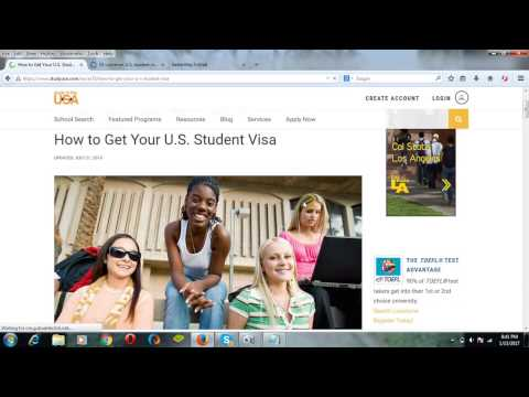 How to Get US Student Visa  Study in USA
