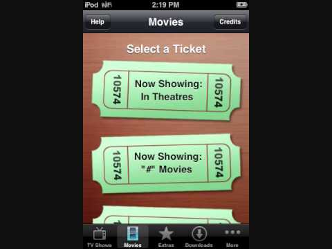New way:How to download movies on iPhone/iPod Touch for free