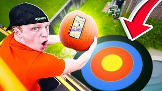 DON'T CRACK THE PUMPKIN! (iPHONE DROP TEST)