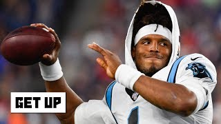 Cam Newton suffers a sprained ankle in the Panthers' preseason game vs. the Patriots   Get Up
