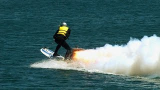 Could You Hang 10 on a Rocket-Powered Surfboard? | MythBusters