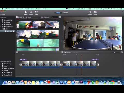 How to mute a clip in iMovie