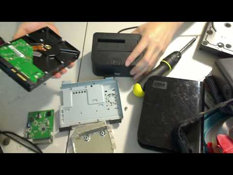 Recover Data HHD hard drive from broken external Western Digital mybook enclosure repair solution