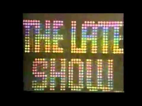 CLASSIC WCBS-TV CHANNEL 2 STAION ID/CLASSIC LATE SHOW OPENING from the 70's