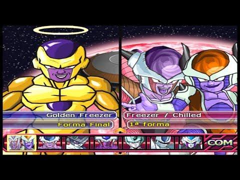 FREEZA, Todas as suas Formas e Transformações!!Dragon Ball Z Budokai Tenkaichi 3