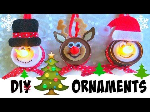 DIY Tea Light Christmas Ornaments :: 2CupsofDelight