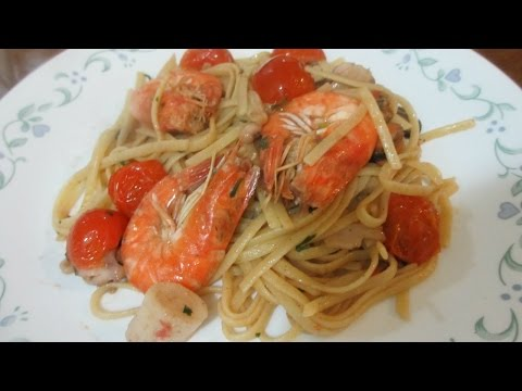 # 22 - EASY SEAFOOD PASTA RECIPE l Lutong Bahay