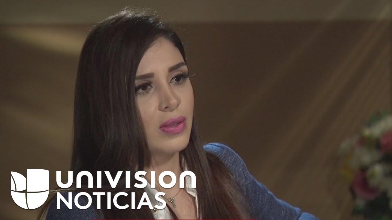 Cara a cara con Emma Coronel: La última entrevista que la esposa de 'El Chapo' le dio a Univision