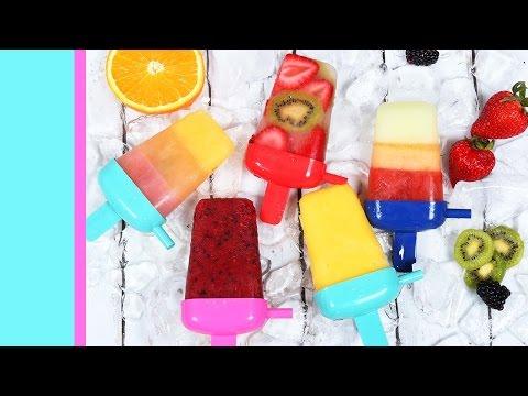 Easy Fruit Popsicles 5 Ways